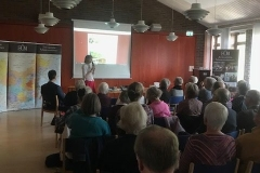 Annelie Sköld berättar om EÖM:s projekt i Kina.