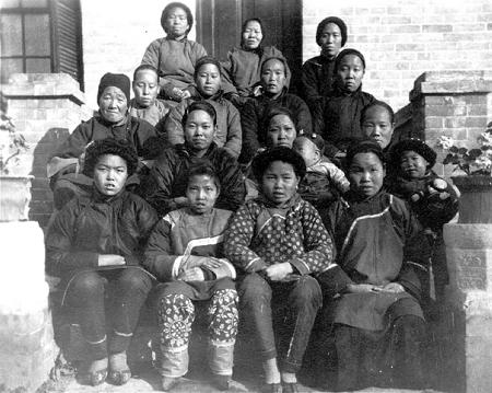 Bibelkurs för kvinnor 1924 i Pucheng.